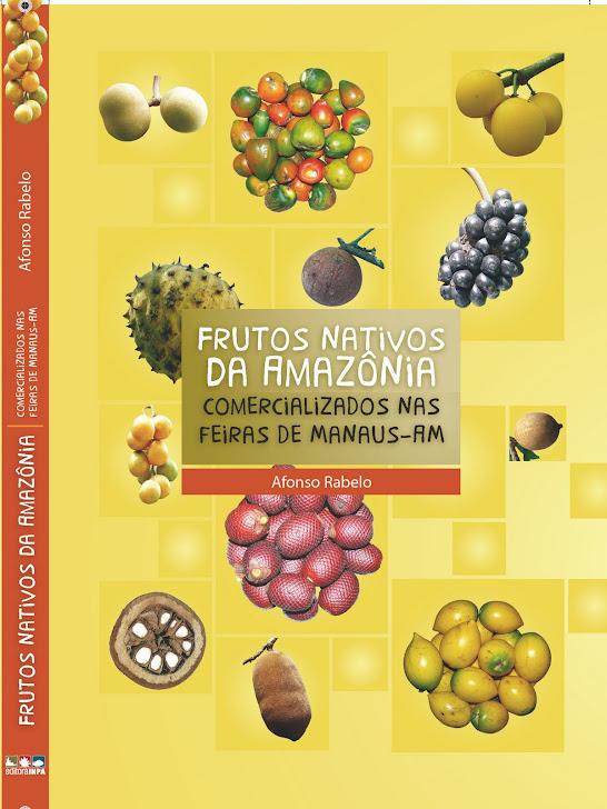 Capa frente do livro Frutas da Amazônia