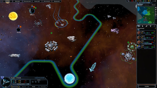 Galactic Civilizations III [Game Peperangan Antar Galaxy]