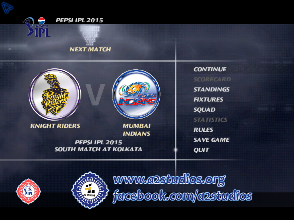 Pepsi IPL 7 Patch Play Hard 2014 for EA Cricket 07