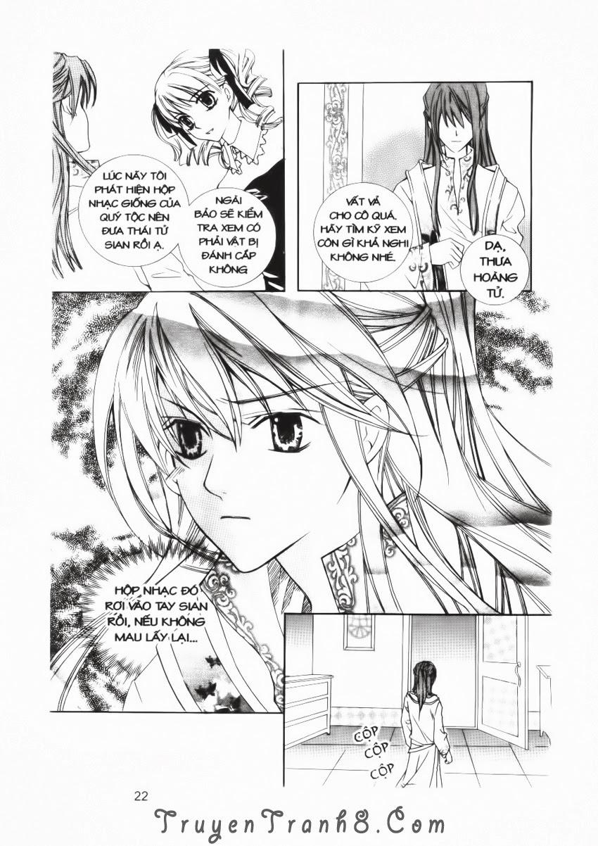A Kiss For My Prince - Nụ Hôn Hoàng Tử Chapter 17 - Trang 23