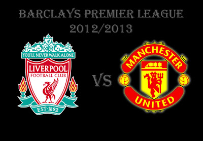 Liverpool vs Manchester United Premier league Barclays 2012