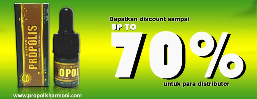 Promo propolis harmoni Discount Hingga 70% Untuk Distributor Propolis Harmoni