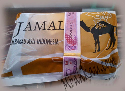 Tembakau Jamal coklat