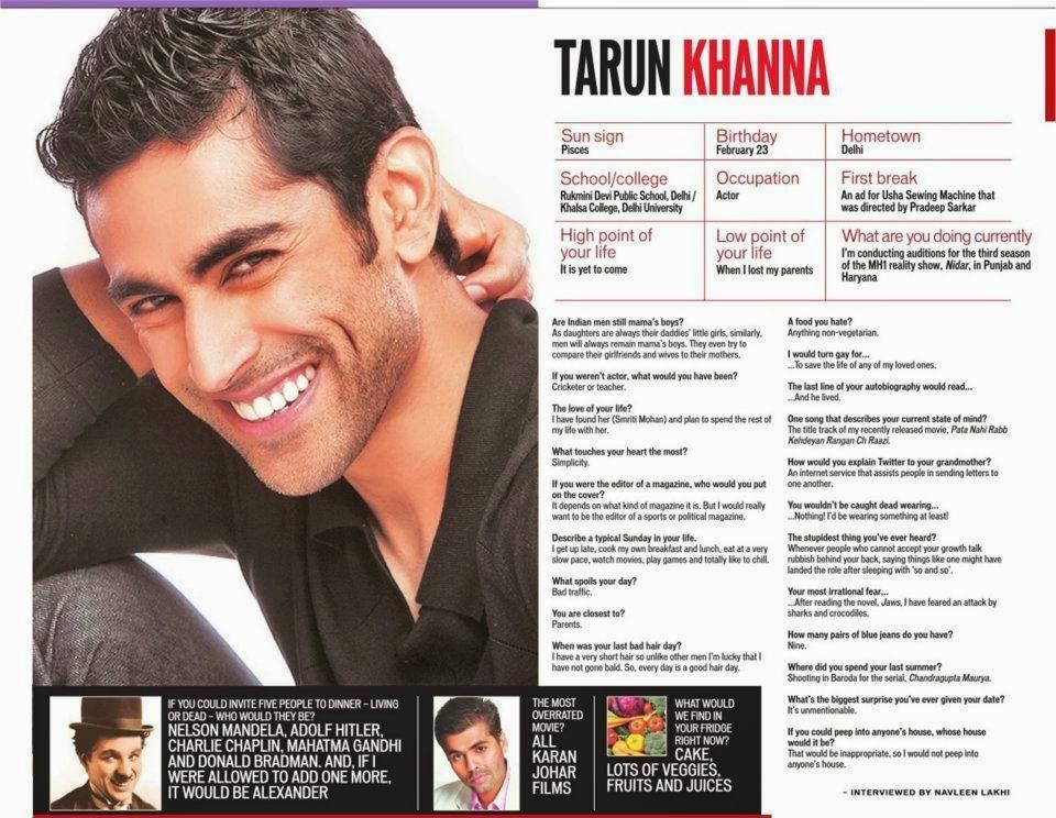 Biodata Tarun Khanna