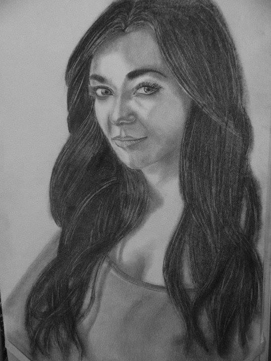 Kresleni Na Zakazku Portret Djane Jaqullin K Narozeninam A3 Tuzka