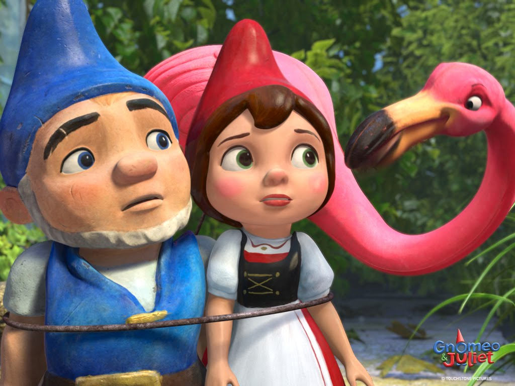 Gnomeo and Juliet Family Cartoon