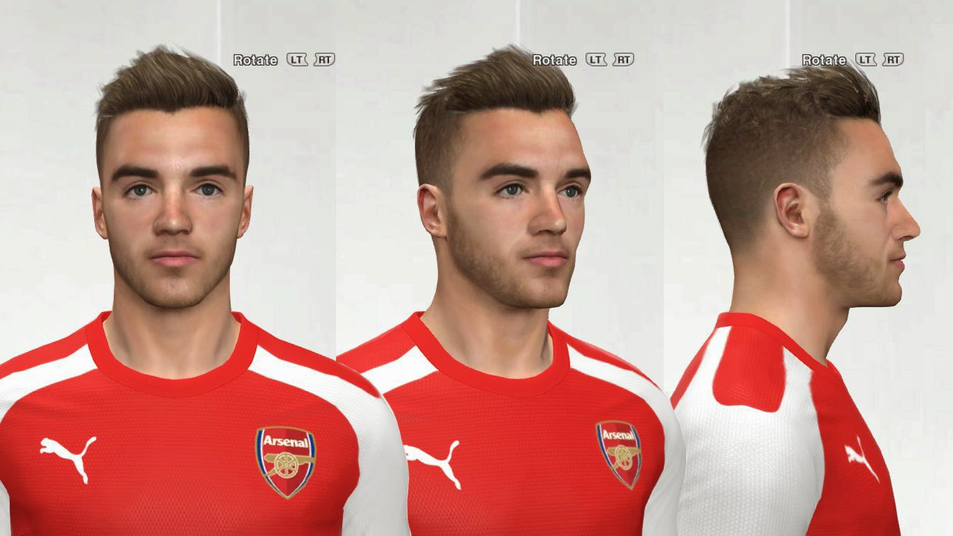 PES 2014 Calum Chambers Face by AMussoullini