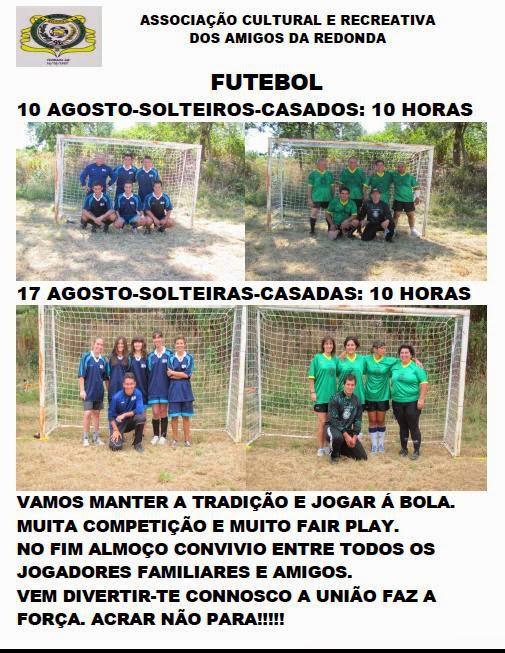 Futebol na ACRAR - Solteiras / Casadas