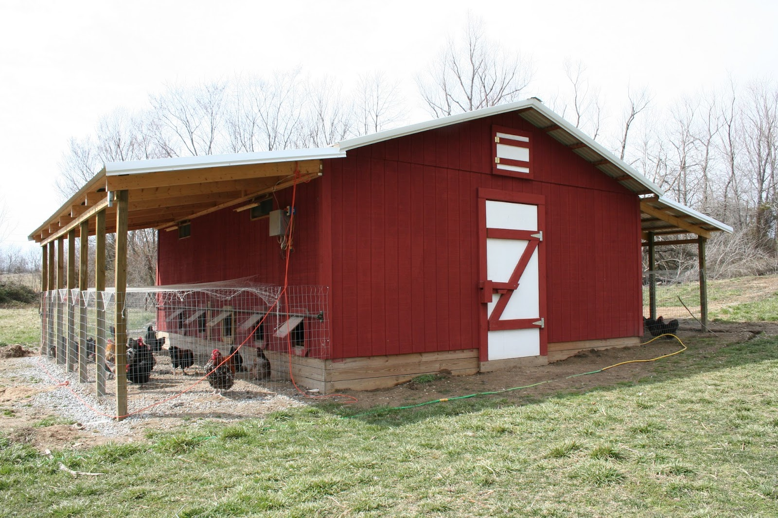 28 Building A Poultry Barn Howling Plans Amp