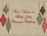 gagnante chez Holly Jolly