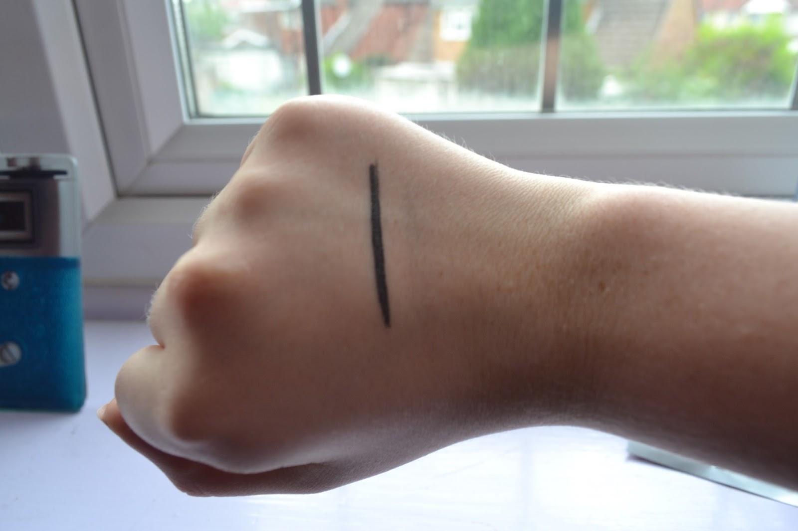 Eyeko Skinny Liner Swatch
