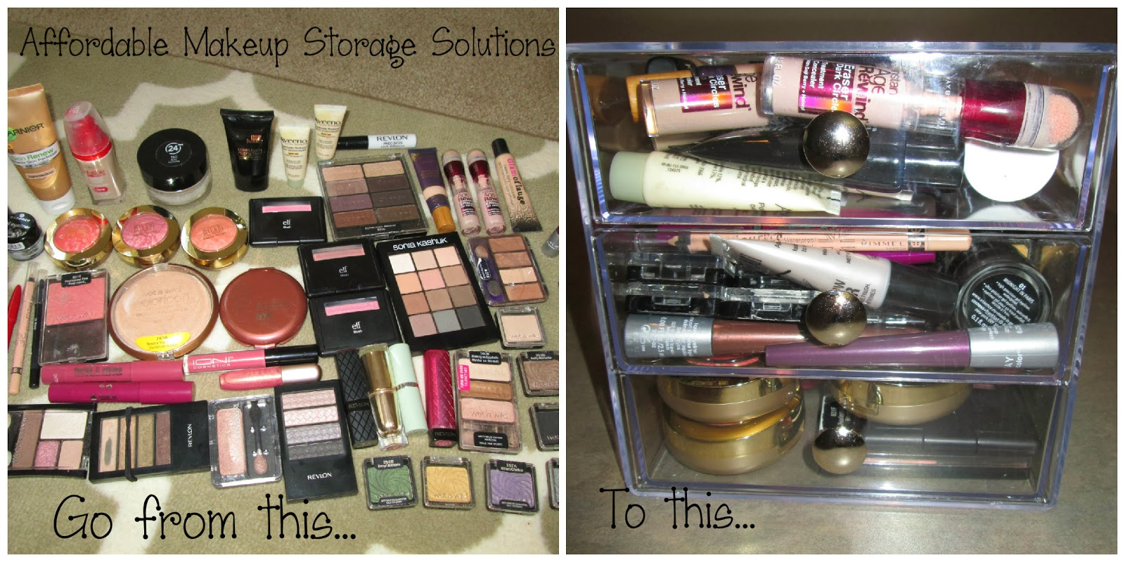 Today And Am Talking All About Makeup Storage Solutions For Limited