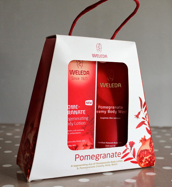 weleda pomegranate collection