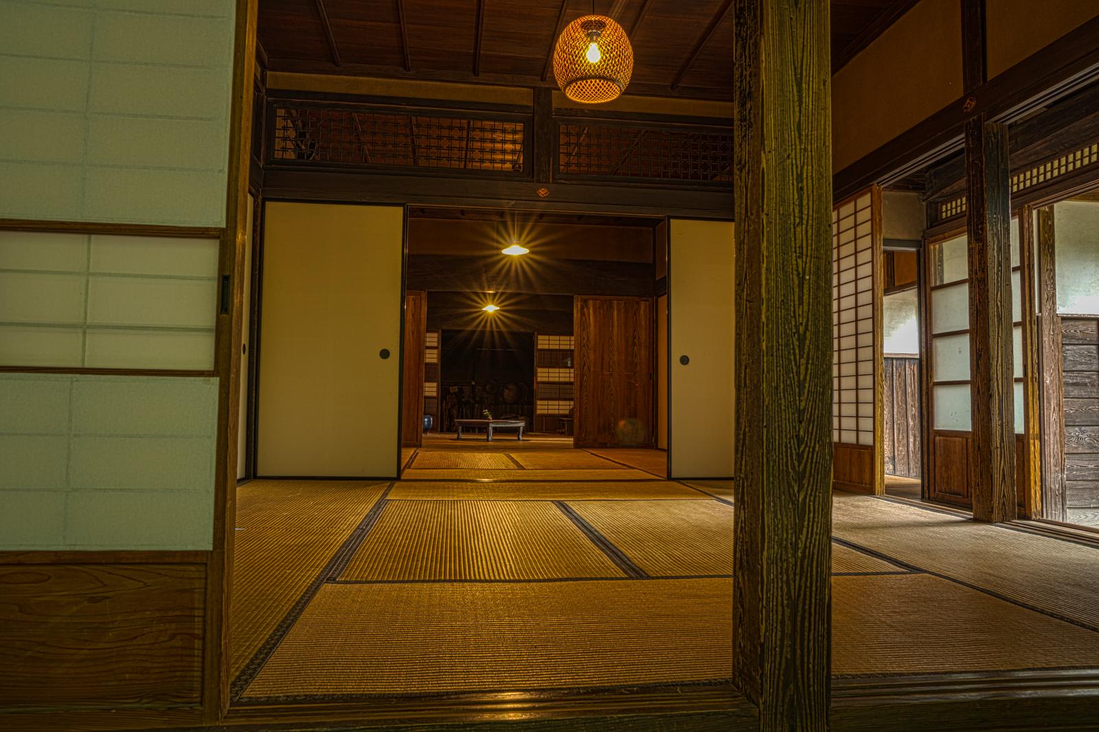 江戸東京たてもの園、吉野家(農家)の和室