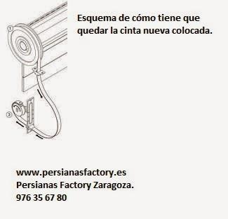 Persianas factory c mo cambiar la cuerda de una persiana - Cambiar cinta de persiana ...