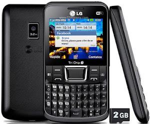 LG Tri Chip C333 harga spesifikasi, ponsel qwerty triple sim, handphone 3 kartu murah saja