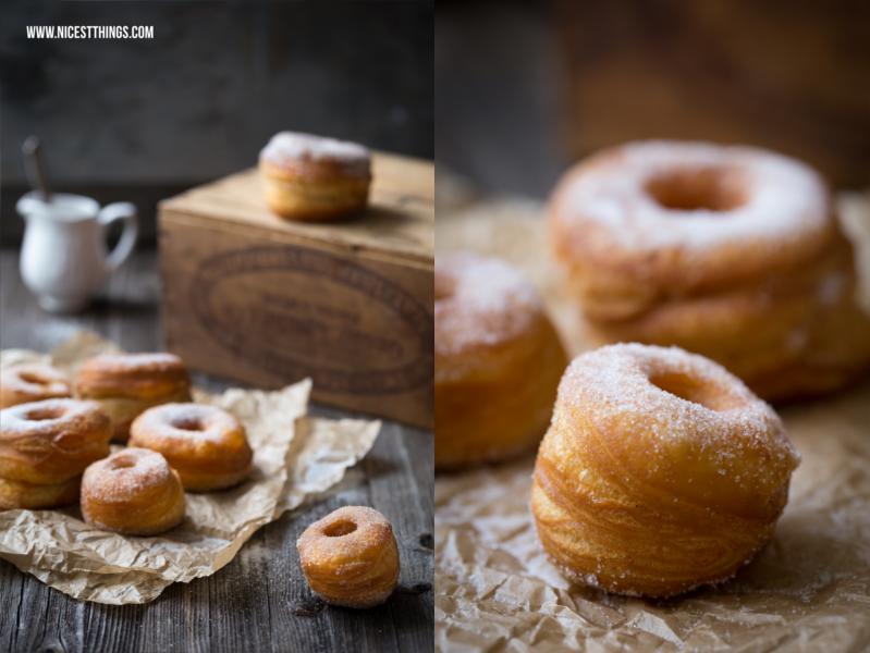 Cronut Rezept Cronuts selber machen aus Blätterteig schnell und einfach