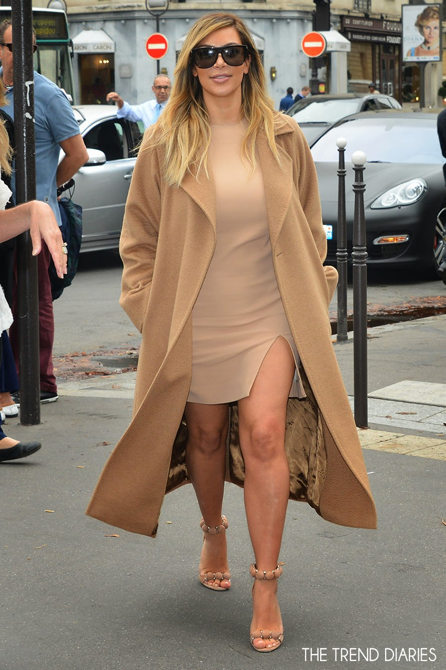 Kim Kardashian Out During Paris Fashion Week 2013 In Paris France September 30 2013 The