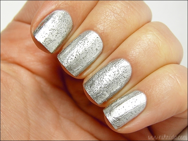 China Glaze Crinkled Chrome Aluminate