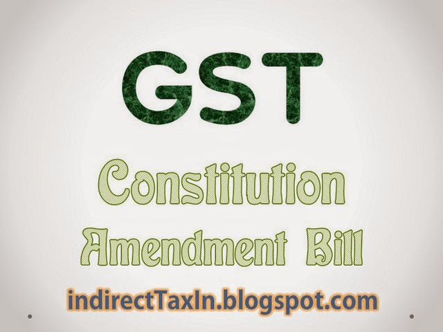 GST 122nd Constitution Amendment Bill