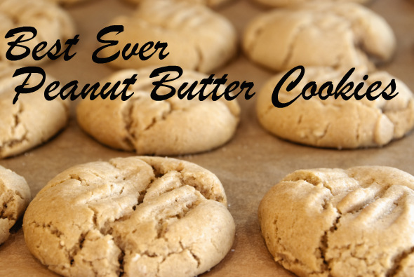 Best Ever Peanut Butter Cookies: With Polkadots, Buttons and Stripes