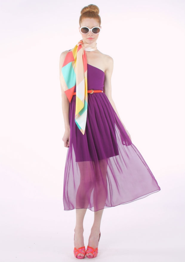 Style29 women dress in spring fashion trend 2012 back to 1960 s