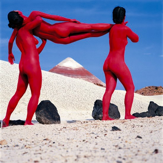 Doctor Ojiplático. Jean-Paul Bourdier. Bodyscapes