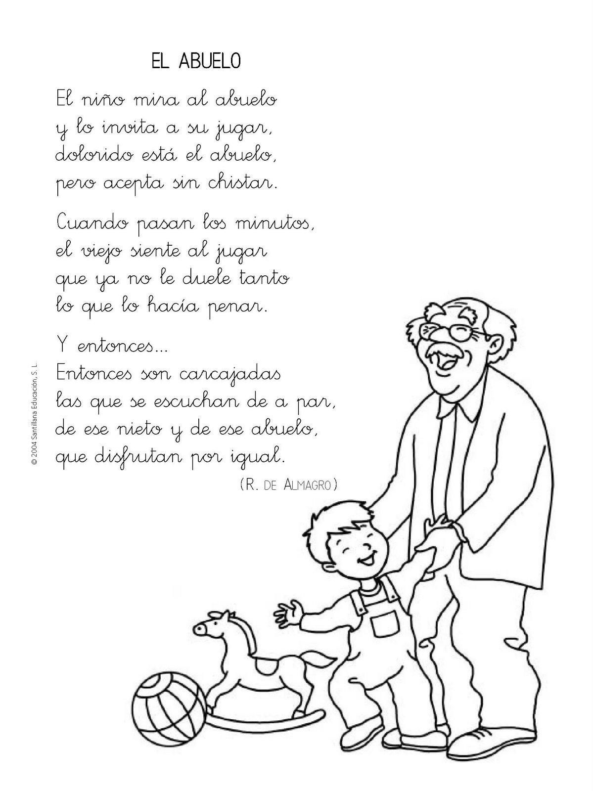 Poema A Los Abuelos Cortos
