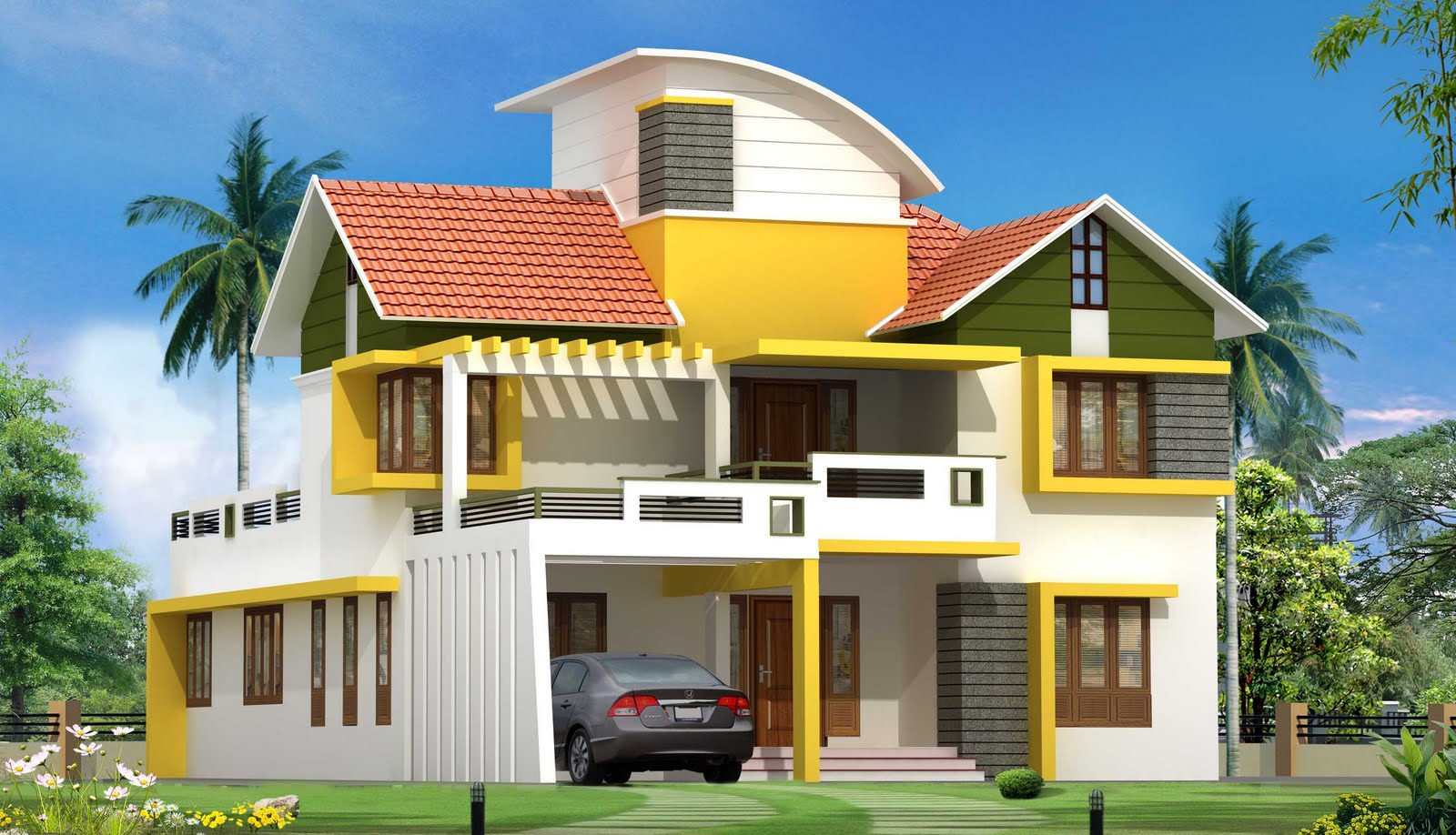 Here is floor plan of beautiful Modern Kerala Home Design from SHUKOOR ...