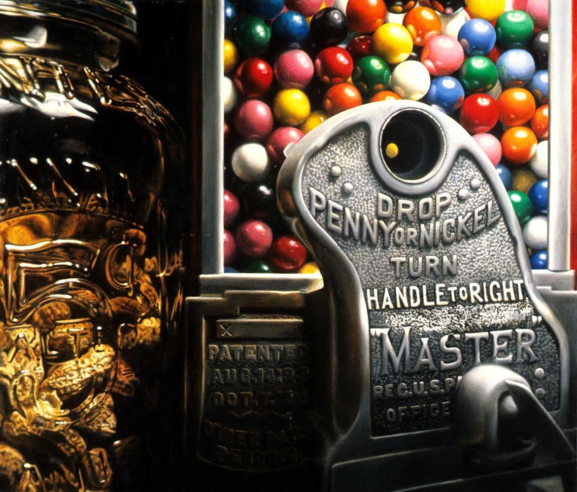 09-Gumball-Number-7-Charles-Bell-Hyper-Realistic-Paintings-www-designstack-co