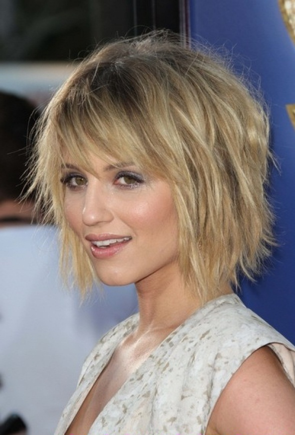 Graduated Bob Hairstyles Choppy Haircuts Give A Trendy And