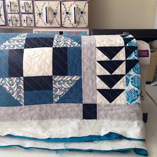 By miekk 2015 quilt doorstikken for Quilt maken met naaimachine