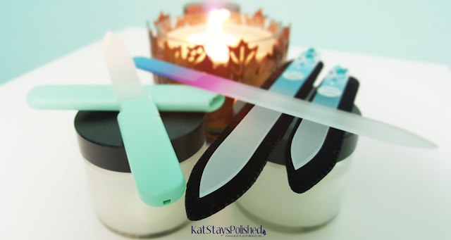 Mont Bleu Glass File | Kat Stays Polished