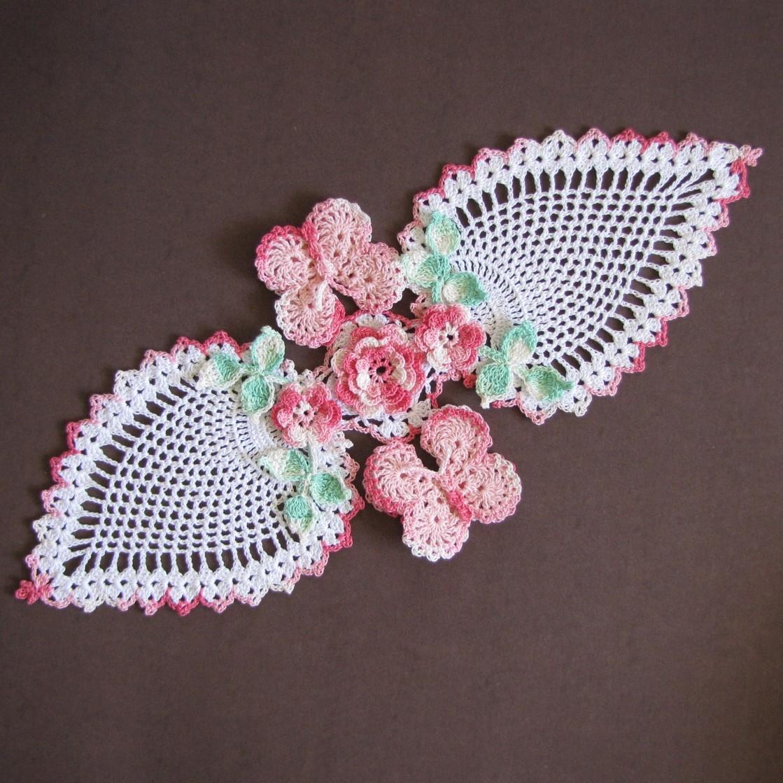 Magnificent Free Pineapple Doily Crochet Patterns Frieze - Blanket ...