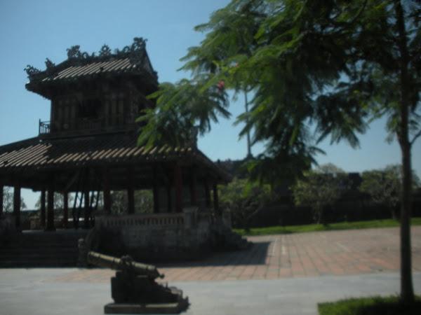 Cañones Sagrados de la Ciudadela de Hue (Vietnam)