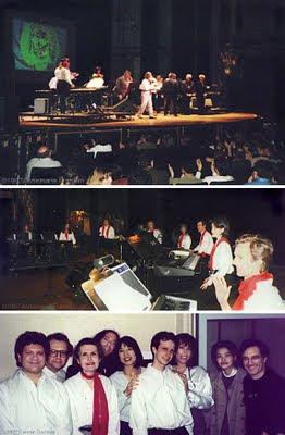 El concierto del Kurzweil Baroque Ensemble en el Beacon Theater de Nueva York con Wendy Carlos, Larry Fast, Jordan Rudess y otros intérpretes