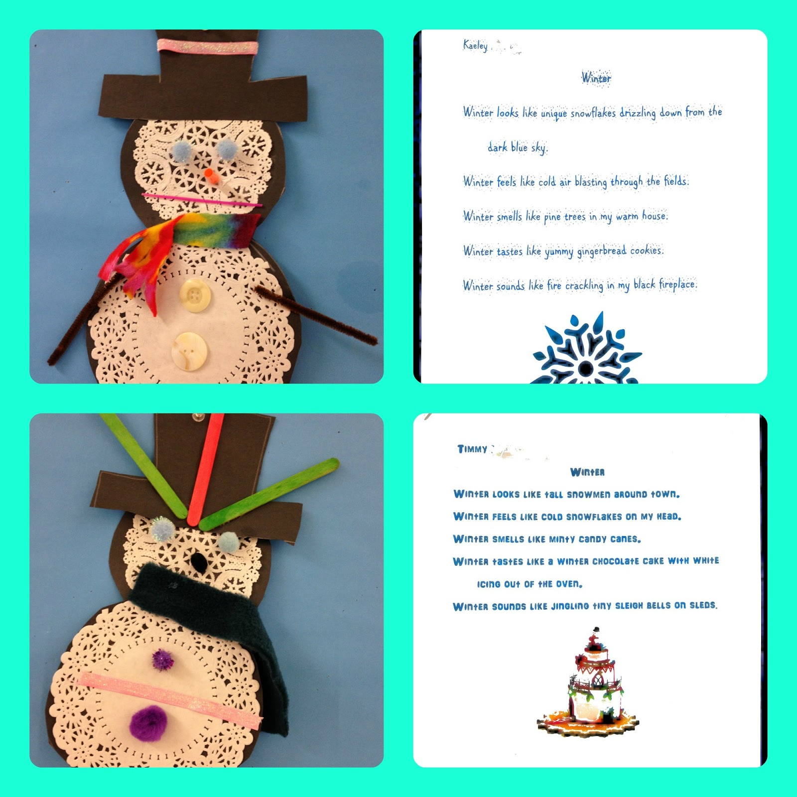 Mrs. Kennedy\'s Second Grade Super Stars: Winter Art and Poetry