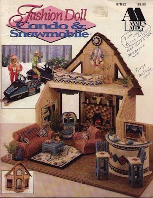 Casita acojedora para barbie labores de esther todo for La casa de mi gitana muebles