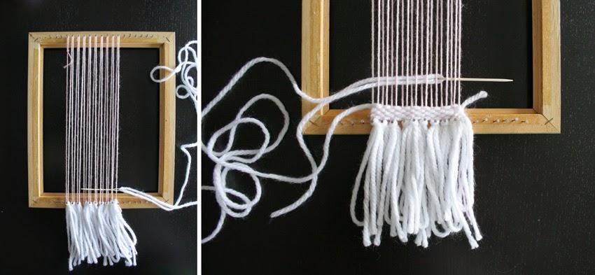 tejiendo en un telar diy5