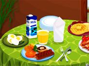 العاب طبخ وجبة الافطار