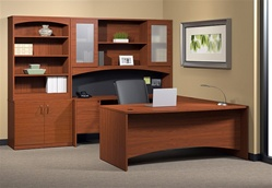 Brighton Executive Furniture Configuration by Mayline