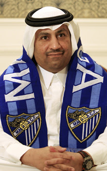 Al-Thani, jeque qatar del Mlaga
