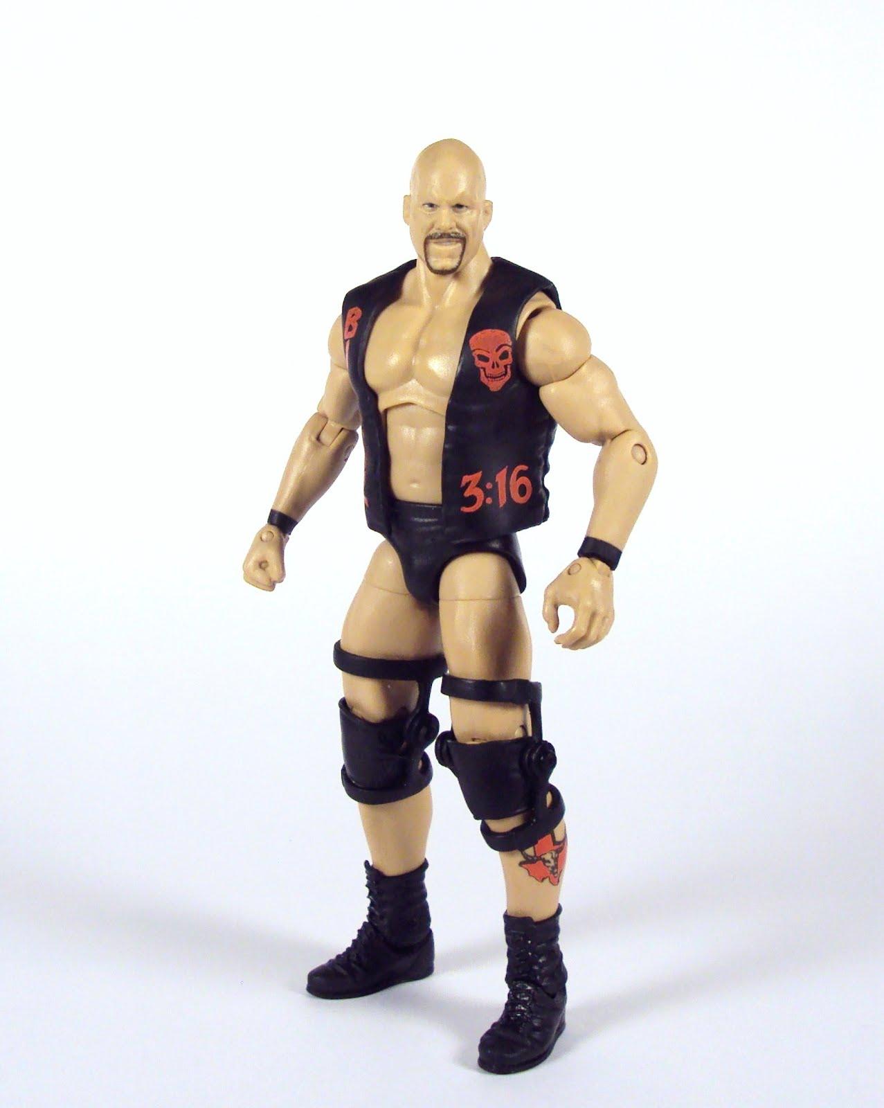 WWE Smoking Skull Heavyweight Championship Title Belt Mattel Basic Stone Cold
