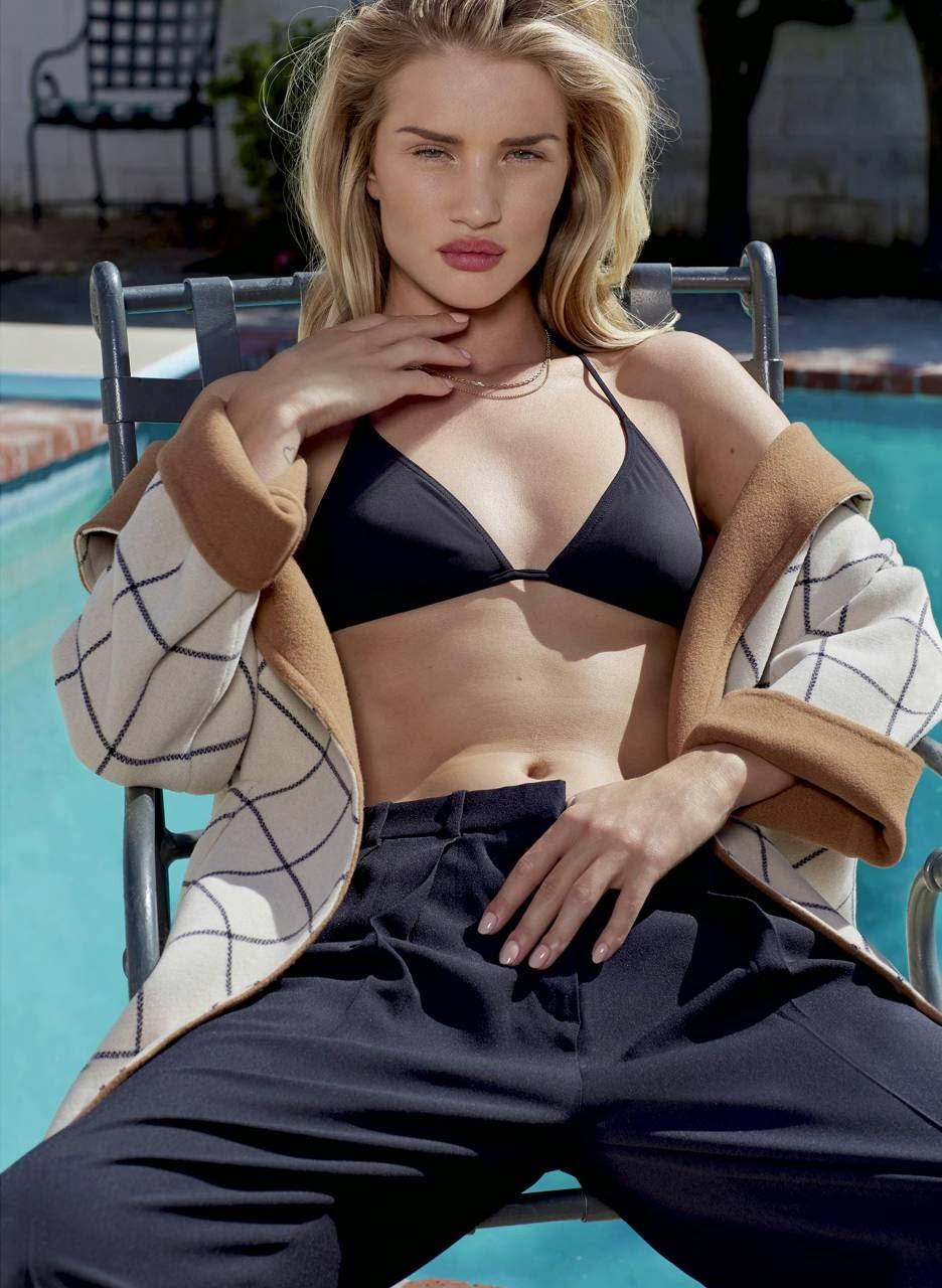 Rosie Huntington Whiteley - Summer Hot Photoshoot for V Magazine