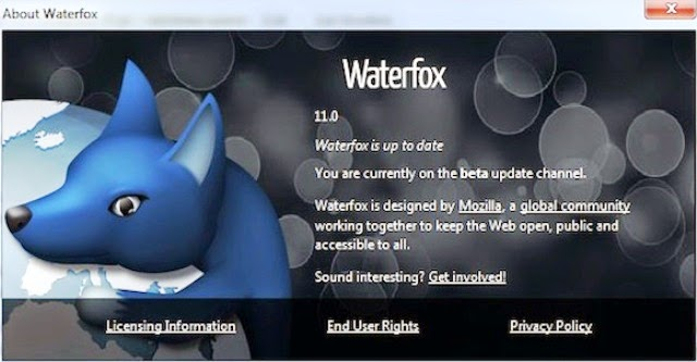 Waterfox Latest Version Free Download