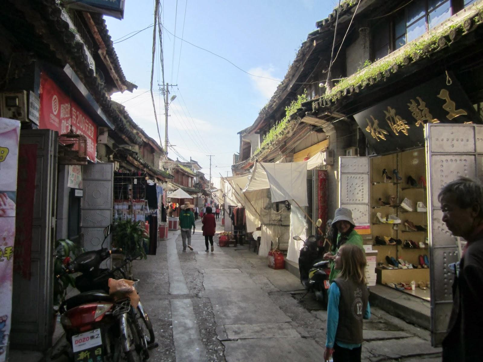 Notre aventure chinoise vacances dans le yunnan dali 2 jour village xi - Village de chine le mans ...