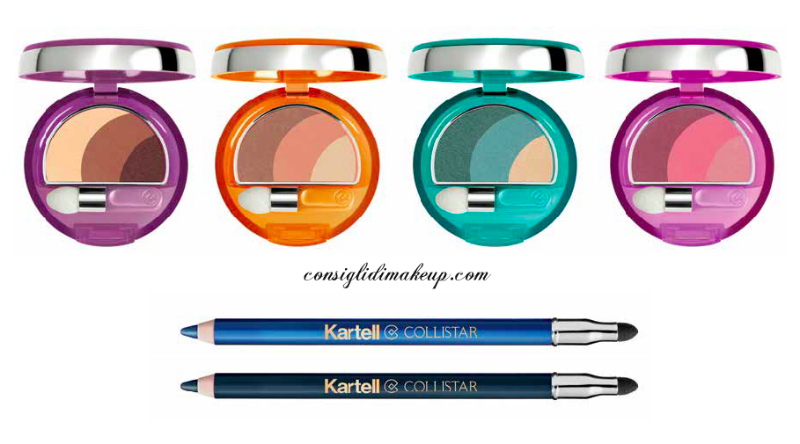 nuovi ombretti e matite occhi collezione edizione limitata collistar