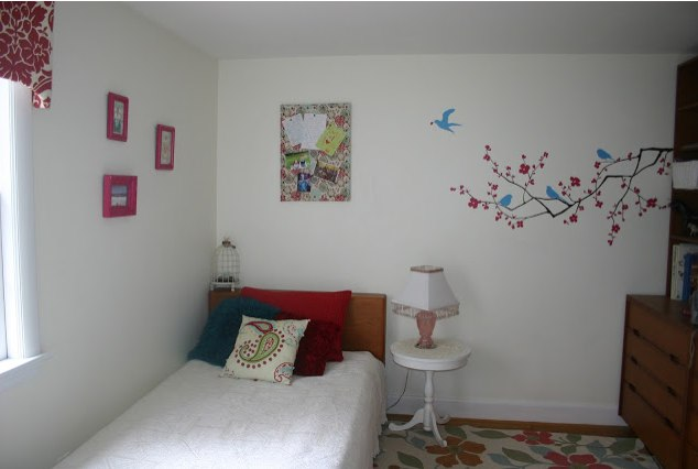 decorating girls room without painting walls modern furniture