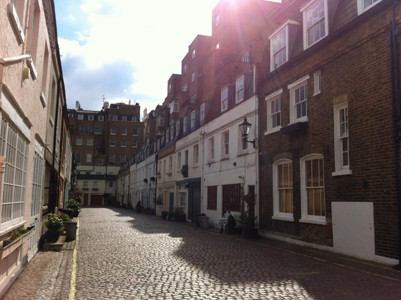 Urban Wandering Paddington To Lancaster Gate In Search