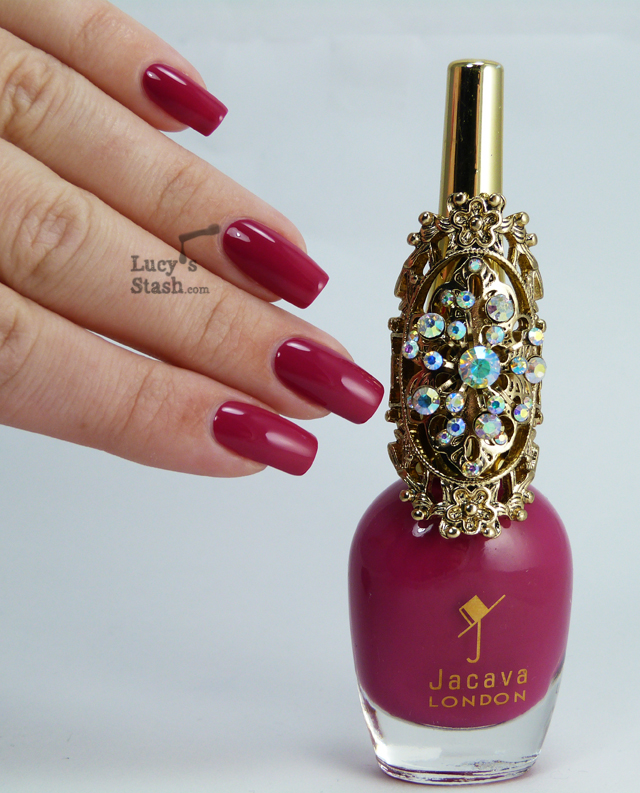 Lucy's Stash - Jacava London Raspberry Bavarois